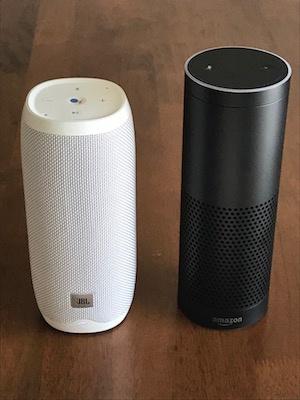 Amazon EchoとJBL LINK比較