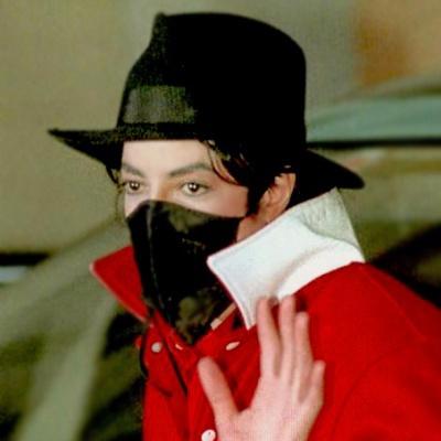 マイケル・ジャクソン黒マスク